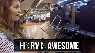 RV Living - 2016 Houston RV Show - Airstream vs Class A vs 5th Wheel vs Trailer