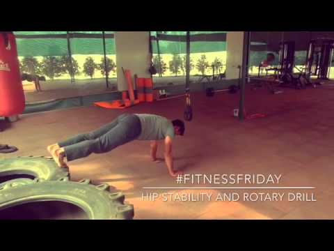 #FitnessFriday- Hip Stability and Rotary Drill