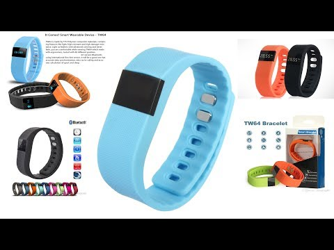TW64 Smart Bracelet | Unboxing & Review