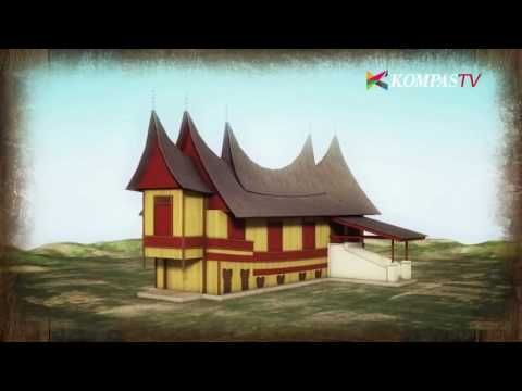 Ragam Rumah Gadang Dari Seluruh Minang Kumpul Di Kampung Ini Youtube