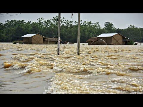Flood in Bangladesh 2019 HD    বাংলাদেশের বন্যা ২০১৯