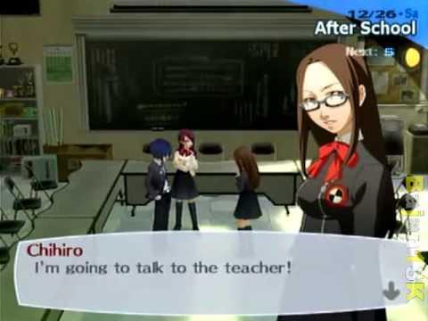 Dating chihiro persona 3