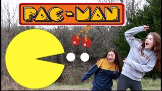 Pacman in Real Life!!!
