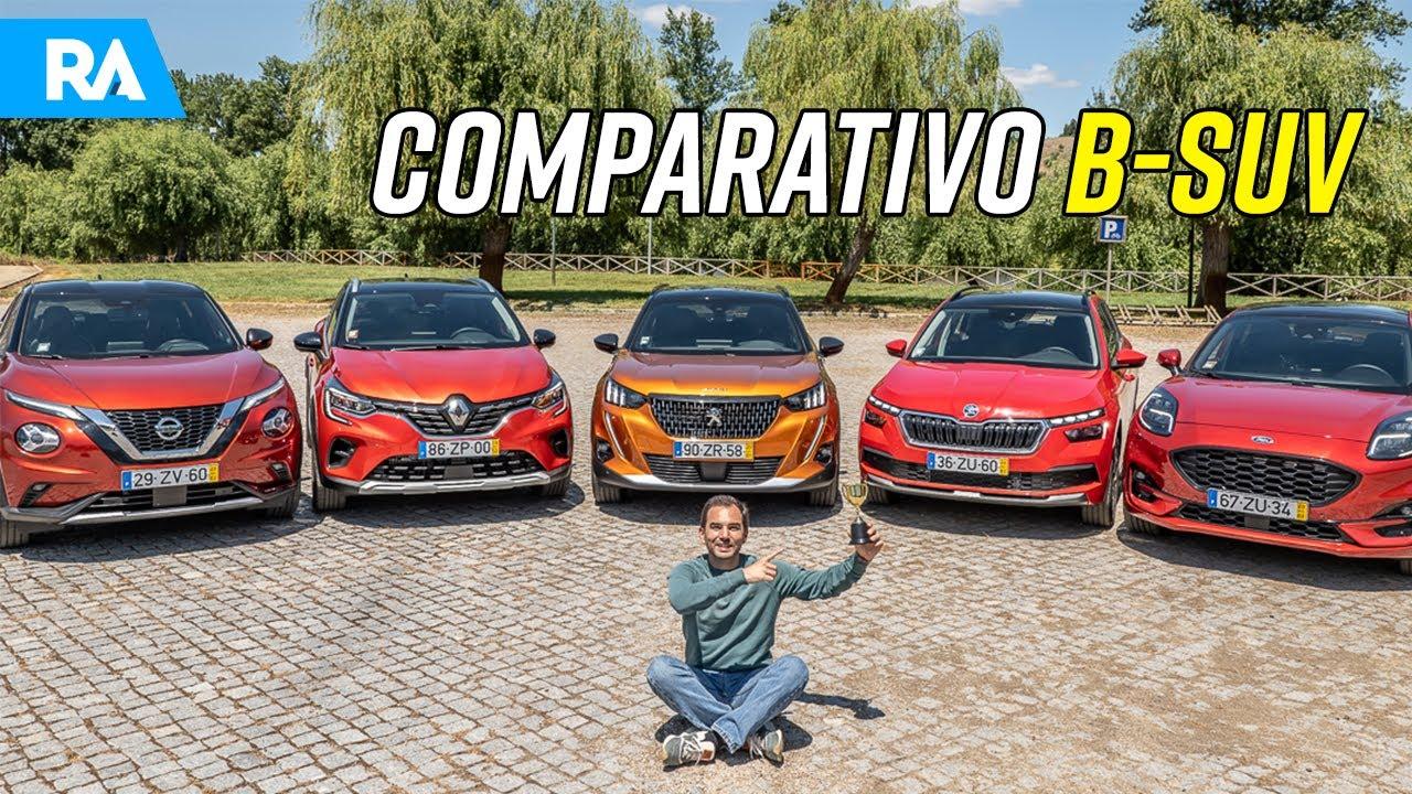 Qual é o melhor SUV 2020? Captur vs 2008 vs Kamiq vs Puma vs Juke [MEGA COMPARATIVO]