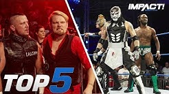 5 Jawdropping Moments from IMPACT's INSANE 6-Man Tag Main Event | IMPACT! Highlights July 12, 2018