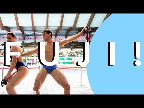 Diving Down and Dirty in Fuji   💦TOILET EXPLOSION 💦I Tom Daley