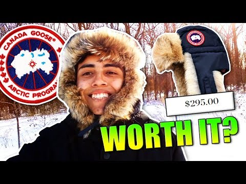 IS CANADA GOOSE WORTH IT?? REVIEW!!!