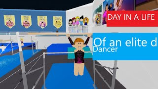 Day in a life of an elite dancer | Roblox | Bloxburg | Role play | Teal Toucan
