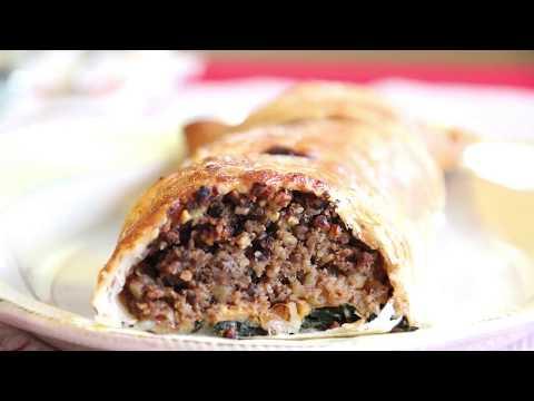 Vegan 'Beef' Wellington with Walnut Mince