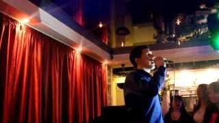 """Аркадий Кобяков - """"А над лагерем ночь""""- Н.Новгород, ресторан """"Русь"""" 15.02.2014"""