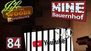 MINE Bauernhof | Dunkle Schattenseite YouTube Star ► #84 MINECRAFT Life in The Woods deutsch