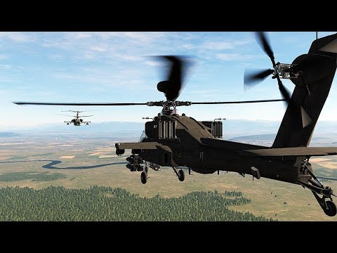 DCS: Ka-50 VS AH-64D Apache - Ai sẽ thắng?