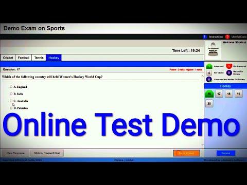 Online Test Demo