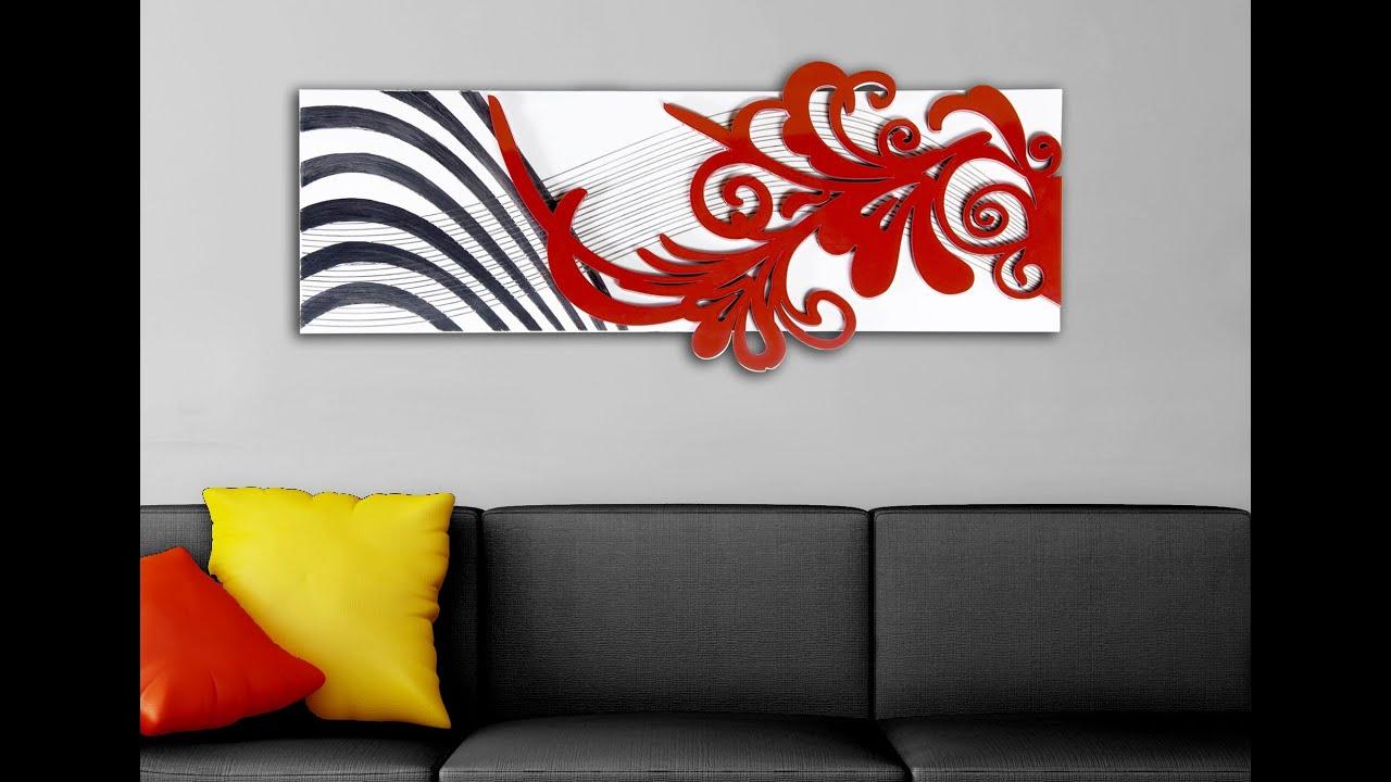 Quadro Astratto Moderno di Las Laser Art Style www.mazzolaluce.com ...