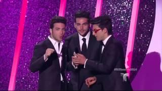 Chino y Nacho ganan la categoría 'Latin Pop Songs' en los Billboard 2014.