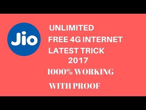 JIO Free Internet Trick 2017 ( 100% working)  without recharge  lifehackerr😱