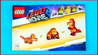 LEGO MOVIE 2 70825 Queen Watevra's Build Whatever Box! D Construction Toy - UNBOXING