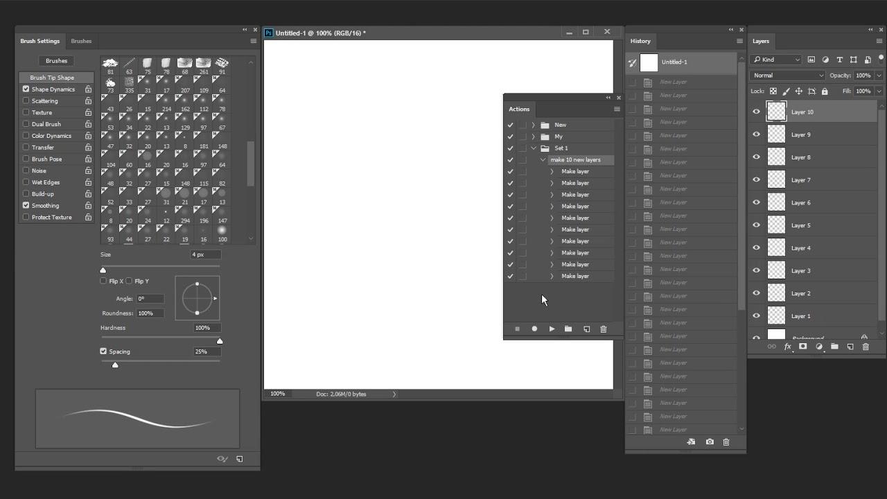 Photoshop CC 2018: Brush Settings panel causing slowness/freezing