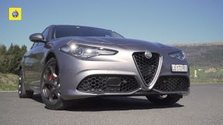 Alfa Romeo Giulia Veloce - Prove Auto