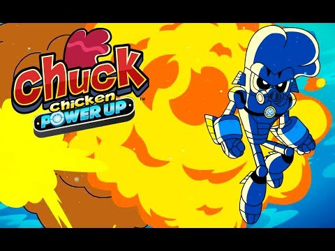 Chuck Chicken Power Up Special Edition - The Sealord's TRIDENT - Superhero cartoons