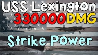 Video USS Lexington DMG MONSTER || World of Warships download MP3, 3GP, MP4, WEBM, AVI, FLV Agustus 2017