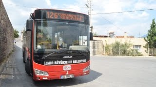 Eshot / İzulaş - 126   Karşıyaka İskele - Cumhuriyet Mahallesi   Parkur Videosu