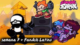Friday Night Funkin' - Week 7 -Tankman Escenas Fandub Latino