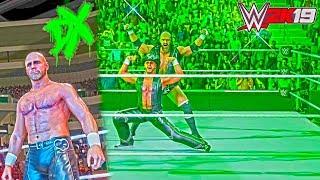 WWE 2K19: D-Generation X Crown Jewel 2018 Updated ft. Shawn Michaels Bald & Entrance Mat Effects!