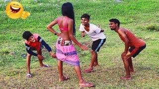 Village Boy Best Comedy Videos 2019 || Binodon Bajar BD