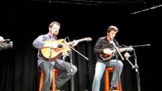 "Dan Tyminski and Ronnie Bowman ""Dark Hollow"" 02 19 2010"