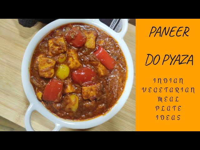 Paneer do pyaza #paneer #indianfood #easylunchideas