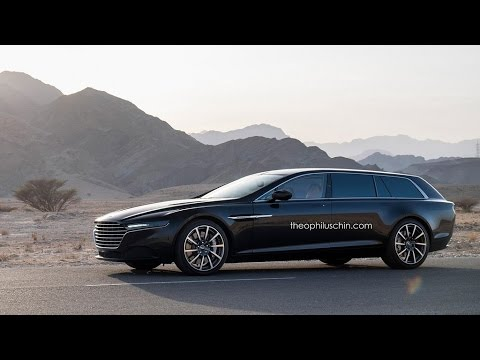 Aston Martin Lagonda Shooting Brake Rendered Youtube