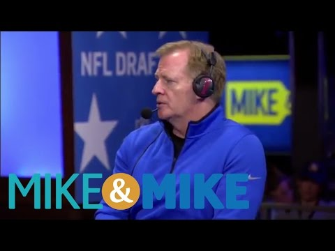 Roger Goodell Concerned About Negative Impact Of Marijuana | Mike And Mike | ESPN