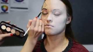 макияж на Хеллоуин в домашних условиях!