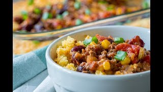 How to Make: Chili Cornbread Casserole