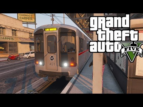 GTA 5: SP Series #3 - Los Santos Has A Subway