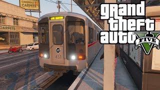 GTA 5: SP Series #3 - Los Santos Has A Subway