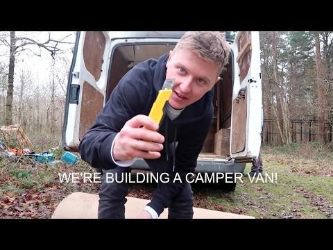BUILDING THE CAMPER VAN    DAY 1 & 2