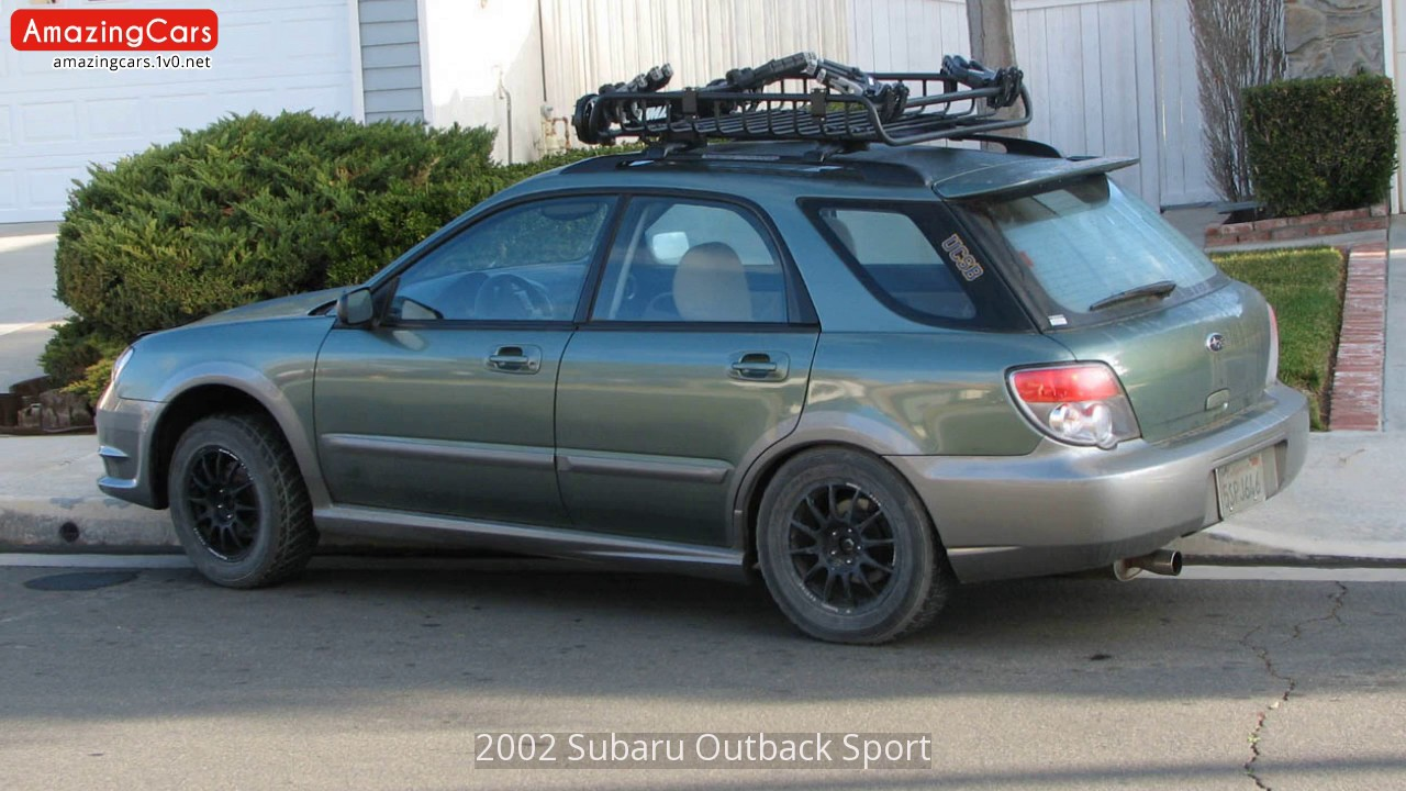 2002 subaru outback sport youtube. Black Bedroom Furniture Sets. Home Design Ideas