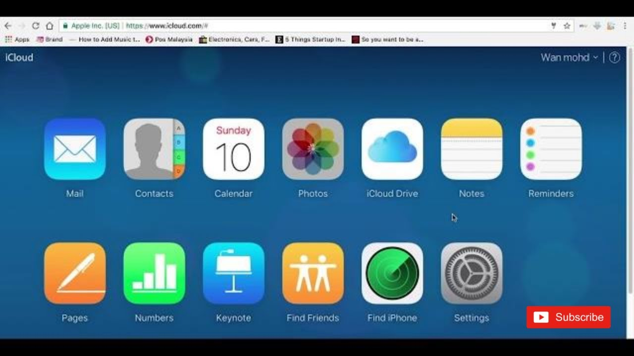 HOW to download files from icloud com