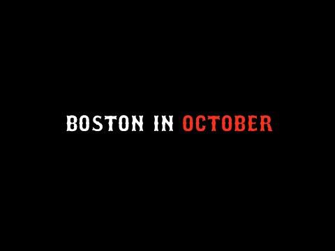 Boston in October  City Vibe 1
