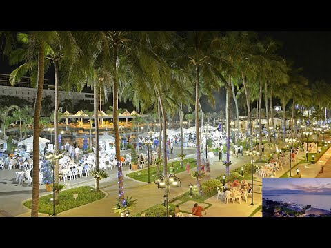 Таиланд  Паттайя, ночной Ambassador City Jomtien Hotel, Inn Wing