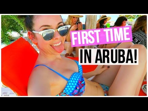 MY FIRST TIME TO ARUBA!