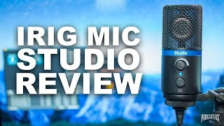 IK Multimedia iRig Mic Studio Review / Test