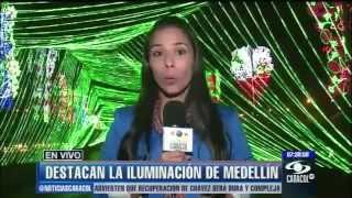 Medellín, una de las 10 ciudades del mundo mejor iluminadas en Navidad