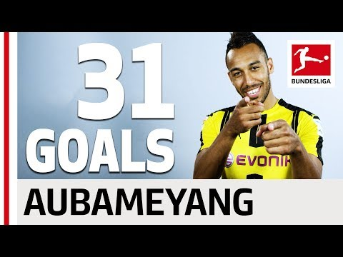 Pierre-Emerick Aubameyang - All his Goals 2016/2017 Season