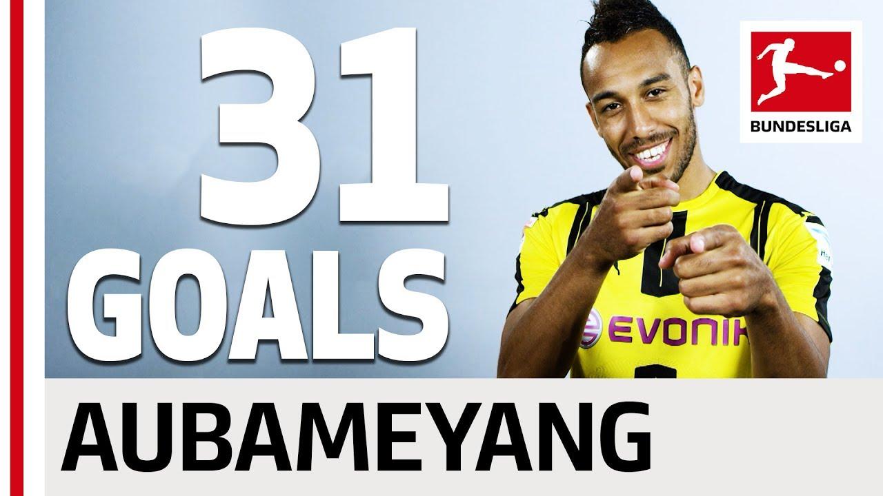 Download Pierre-Emerick Aubameyang - All his Goals 2016/2017 Season