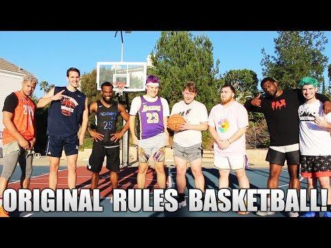 2HYPE PLAYS BASKETBALL WITH ORIGINAL NAISMITH RULES!