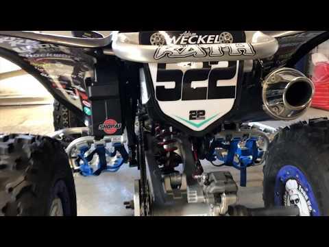 Adam Weckel 2019 GNCC Race Quad   Honda TRX 450R