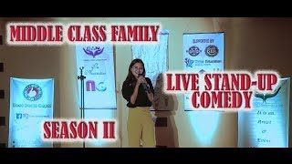 Middle Class Family | Nepali Stand-up Comedy | Yoznaa Magar | Nep-Gasm Comedy
